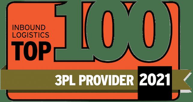 Top 100 3PL Badge