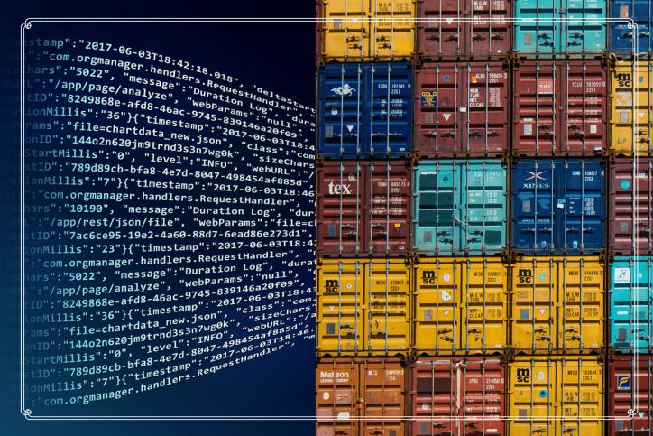 Blockchain technology logistics